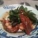 Prunier: Salade de homard bleu