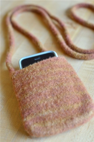 his iphone purse | by waldorf mama