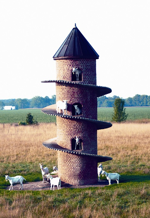 Goat Tower Goat Tower One Of Only A Few In World