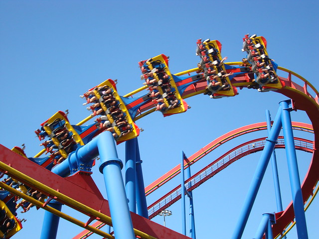 Superman Roller Coaster | Flickr - Photo Sharing!