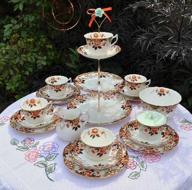 Victorian Tea Set Amp Cake Stand Flickr Photo Sharing