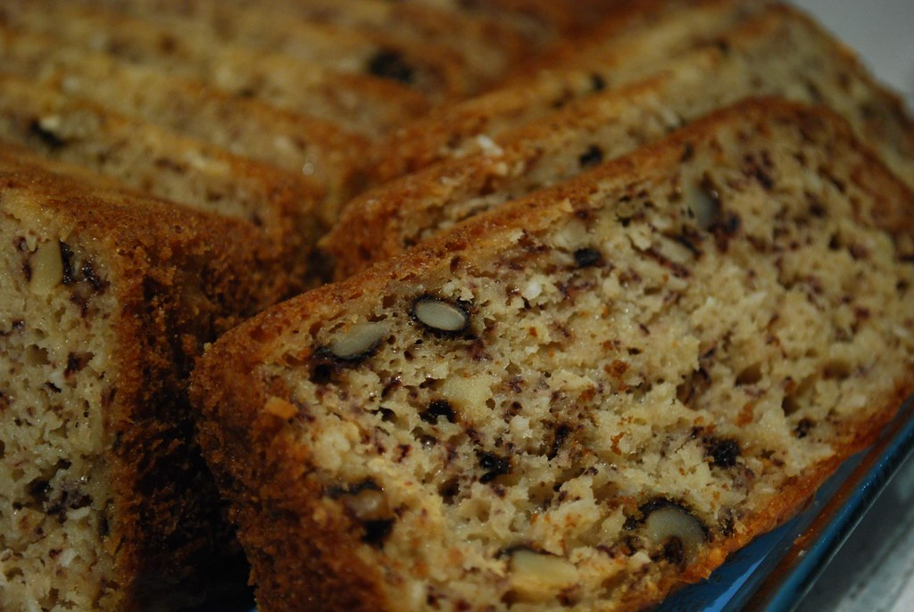 Banana Walnut And Chocolate Cake Recipe