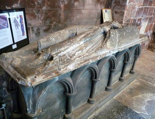 Tomb of Sir Roger de Montgomerie, 1st Earl of Shrewsbury, Shrewsbury Abbey | by ROBERTFROST1960