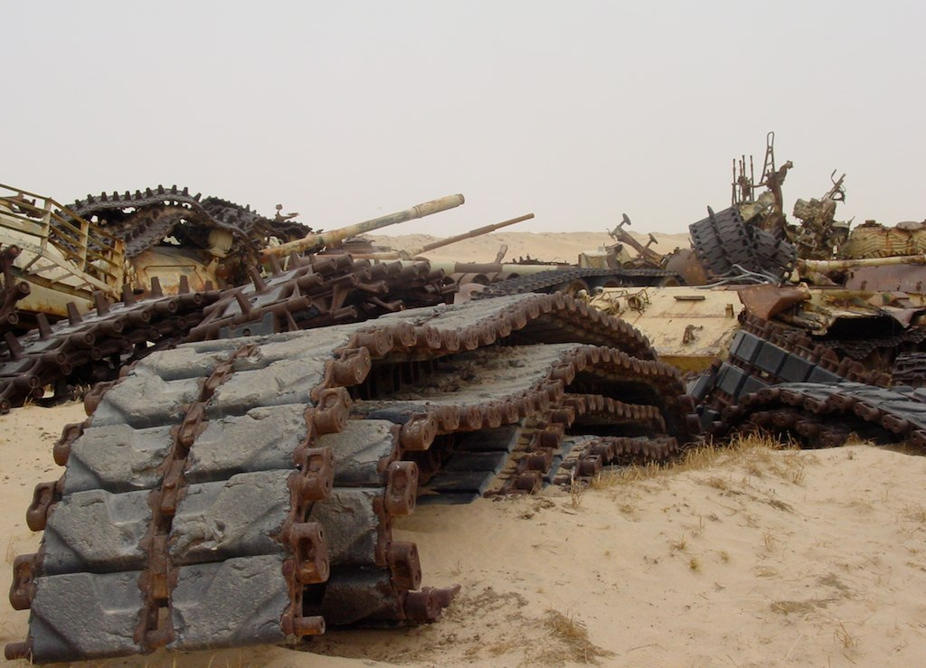 Desert War Color Page