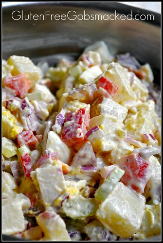 GF, low fat & still delicious:  Potato Salad     http://wp.me/p2eEs-lO | by Kate Chan