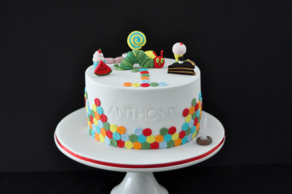 Hungry Catterpillar Cake Web Mysweetheartsbakery Flickr