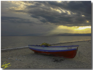 Lonely fishing boat ... 3xP HDR | by Emil9497 Photography & Art