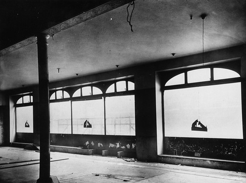 hmv 363 Oxford Street, London - First floor front looking North - 31th January 1921.