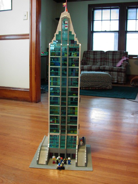 how to build a lego elevator