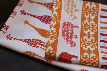 Scarlet Fig fabric | by Townmouse