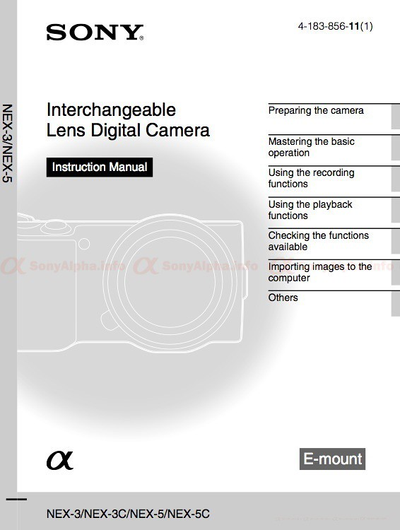 sony nex 3 and nex 5 user manual is available for download flickr rh flickr com sony nex 5n user manual pdf sony nex 5r user manual