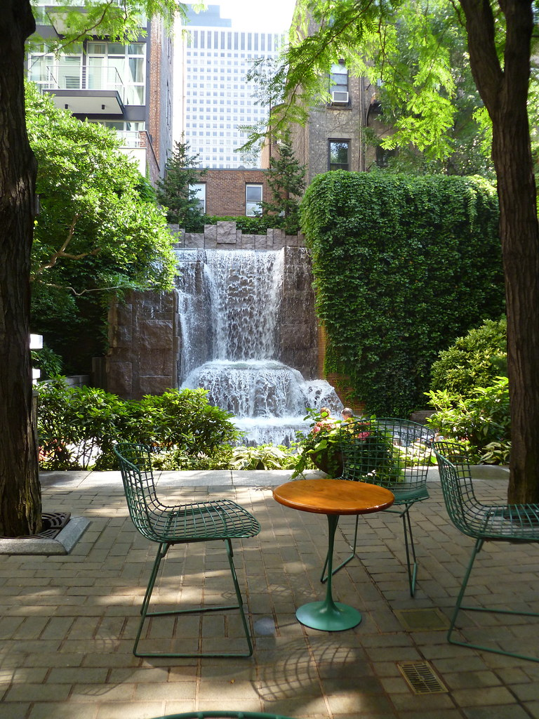 Table Amp Chairs Greenacre Park Nyc From Project For