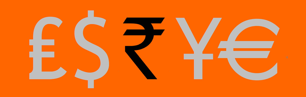 Pound Dollar Rupee Yen Euro Symbols 2 Michael Flickr