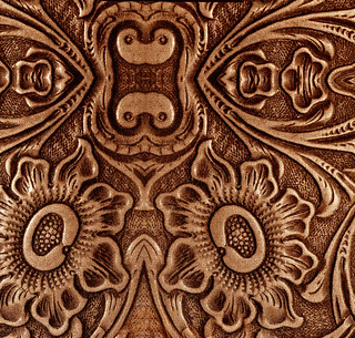 Embossed Leather Design | by Calsidyrose