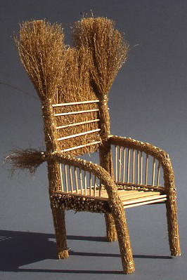 Gentil ... Straw Chair   By Gallery O