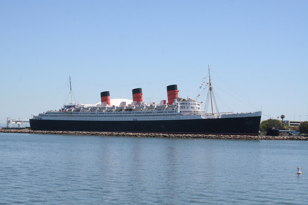 Queen Mary Liner Long Beach