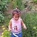 Pinky in the garden