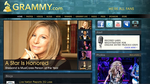 BARBRA STREISAND - Honored as 2011 MusiCares Person Of The Year | by JCT(Loves)Streisand*