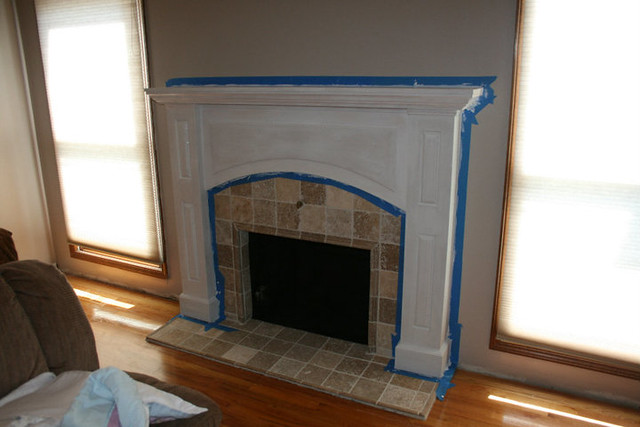 Project Library Fireplace Mantel Redo 10 Flickr Photo Sharing
