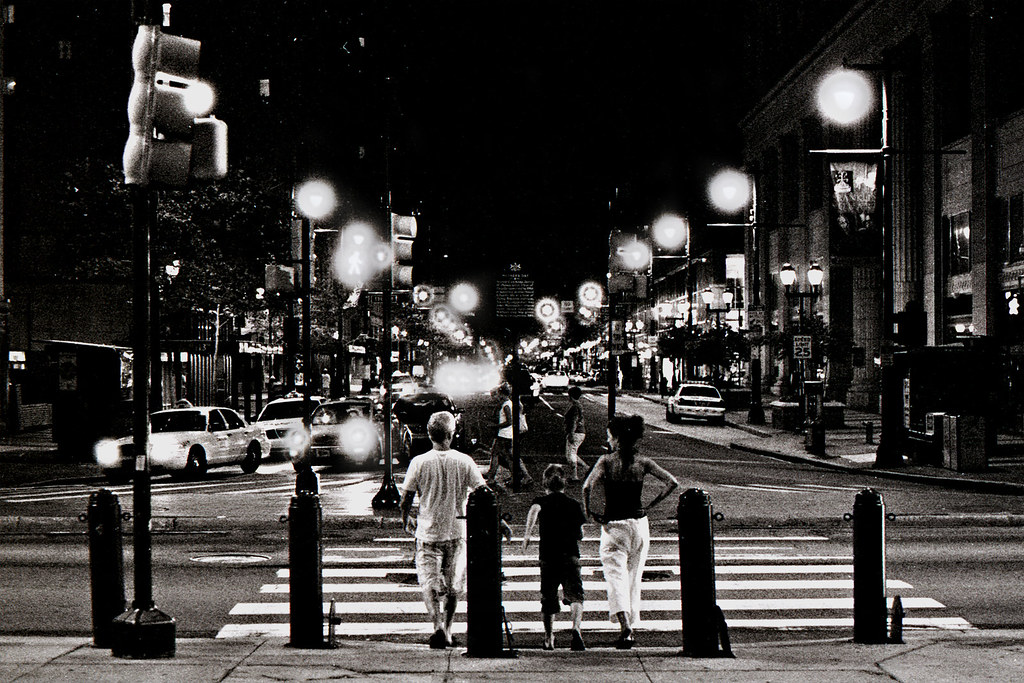 Night Out on the Town | Olympus Om2-n Zuiko 50mm 1.8 ...