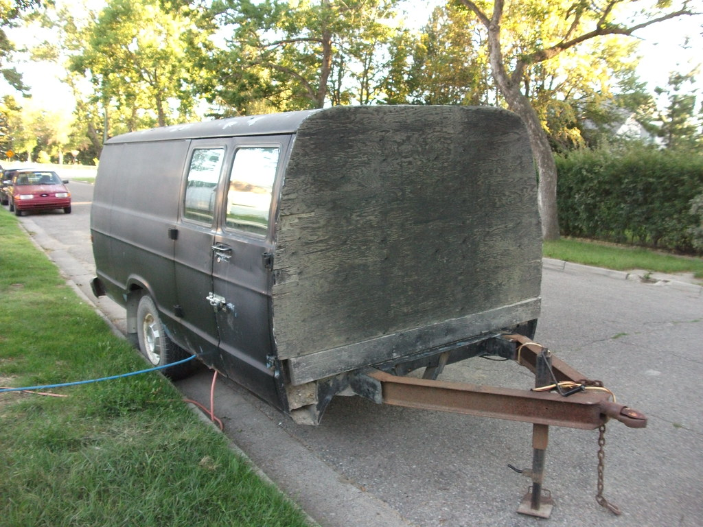 Trailers Made From Truck Beds For Sale