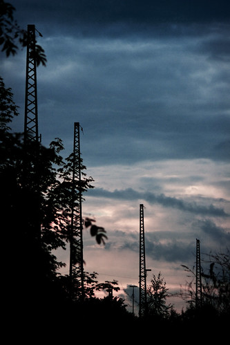 Mast silhouettes | by kirberich