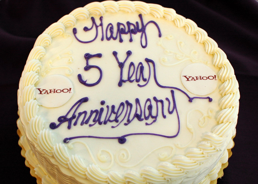 Yahoo labs th anniversary cake research flickr