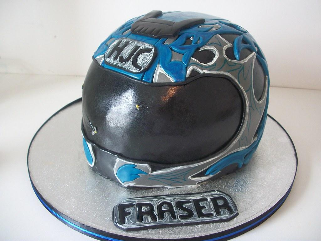 Motorcycle Helmet Cake Pan