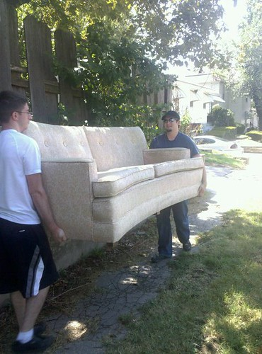 moving the couch | by geekdetails