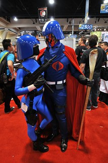 GI Joe - Cobra Commander and Babe | by Ptrickw