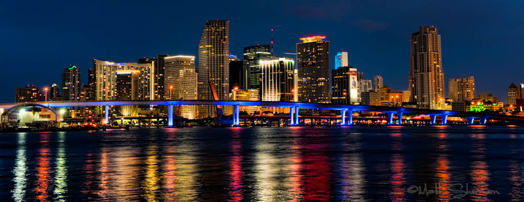 Downtown Miami Skyline Camera Nikon D300S Lens 17 55 f