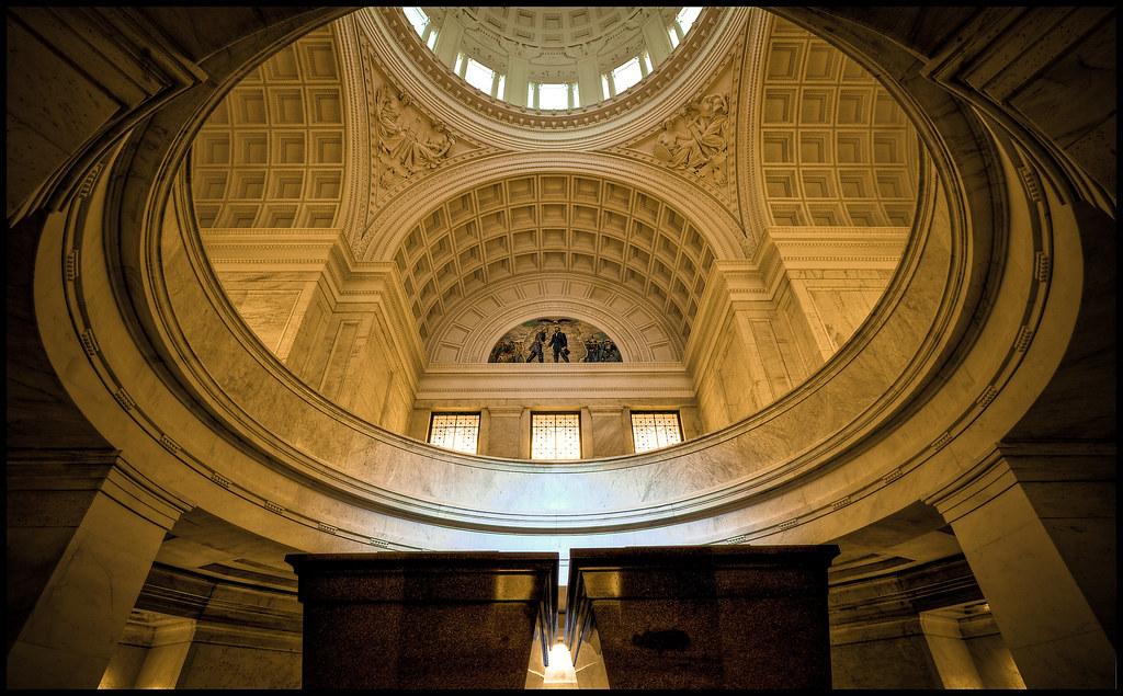 Inside Grant S Tomb General Grant National Memorial As