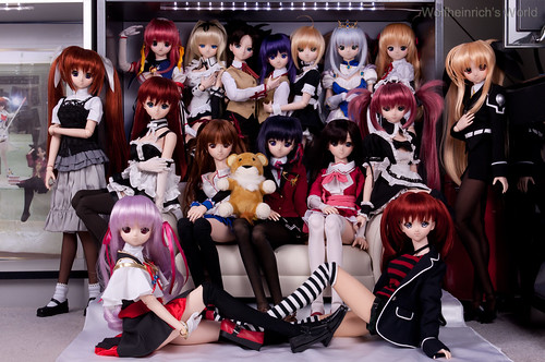 [Explore]Dollfie Dream Daughters Grand Glorious Gathering Sixteen Daughters Version | by Wolfheinrich