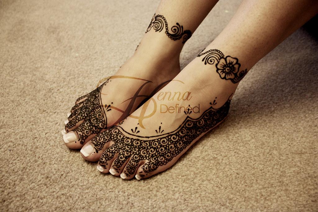 Bridal Feet Henna Defined Flickr
