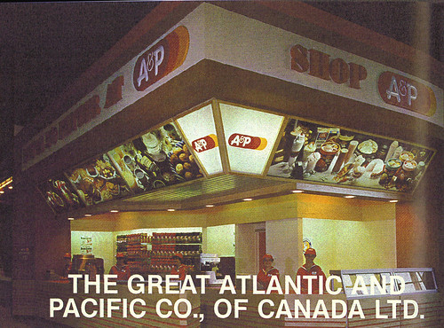 1980 CNE Food Building: A&P | Source: Canadian Grocer ...