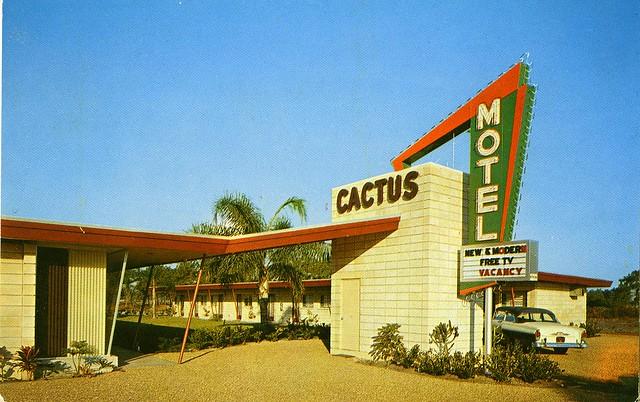 Cactus Motel St Petersburg Florida