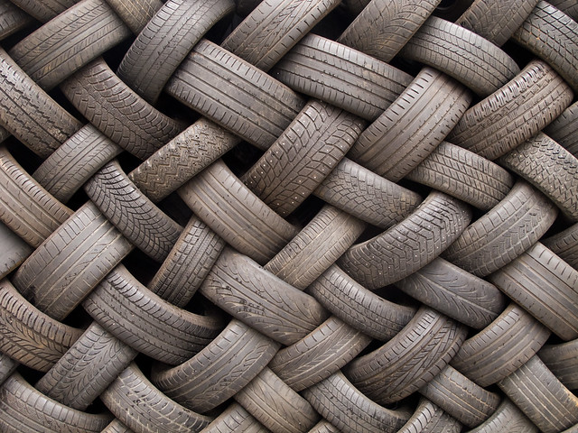 Img 5967 Tire Wall Texture Flickr Photo Sharing