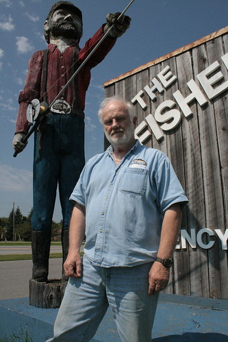 Jerry, co-owner of the Fisherman in International Falls | by Nature Valley Explorers
