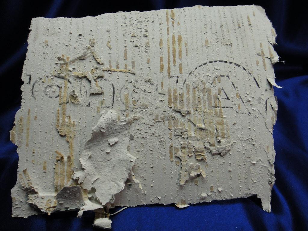 Armstrong Asbestos Sheet Flooring Reverse Side