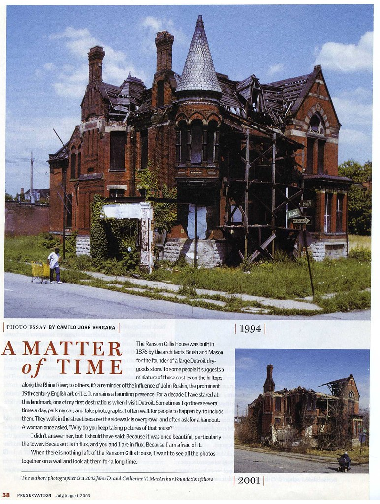 the remains of detroit photo essay The forgetting machine: notes toward a history of detroit whatever happens next will be without precedent because the context of city no longer applies in this place where history has finally run out.