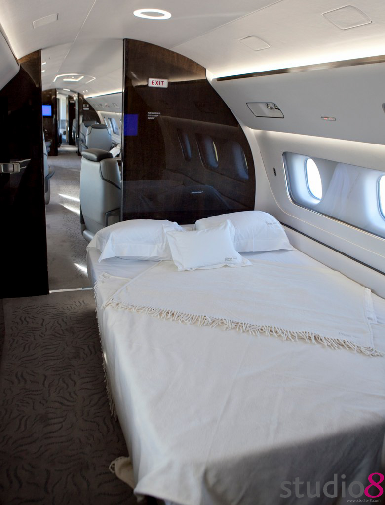 Private Jet Bed A Great Place To Rest Amongst The Clouds