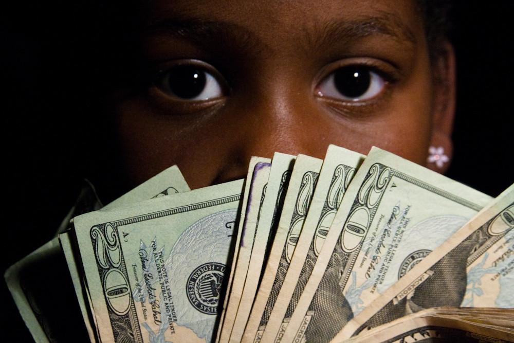 teen cash Black