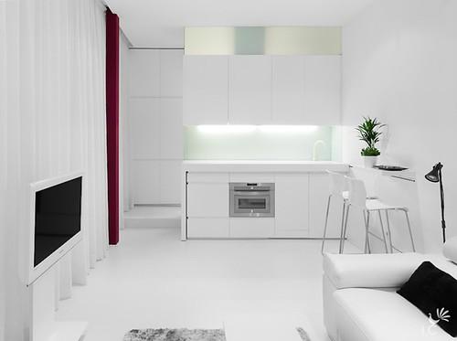 Apartamento en madrid vivienda mini apartamento en madrid flickr - Disenador interiores madrid ...
