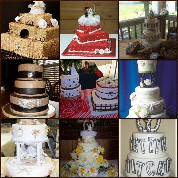 Cowgirl Wedding Ideas: Country Western Wedding Cakes