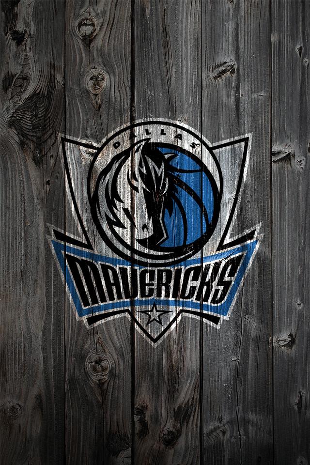 Dallas Mavericks Wood IPhone 4 Background