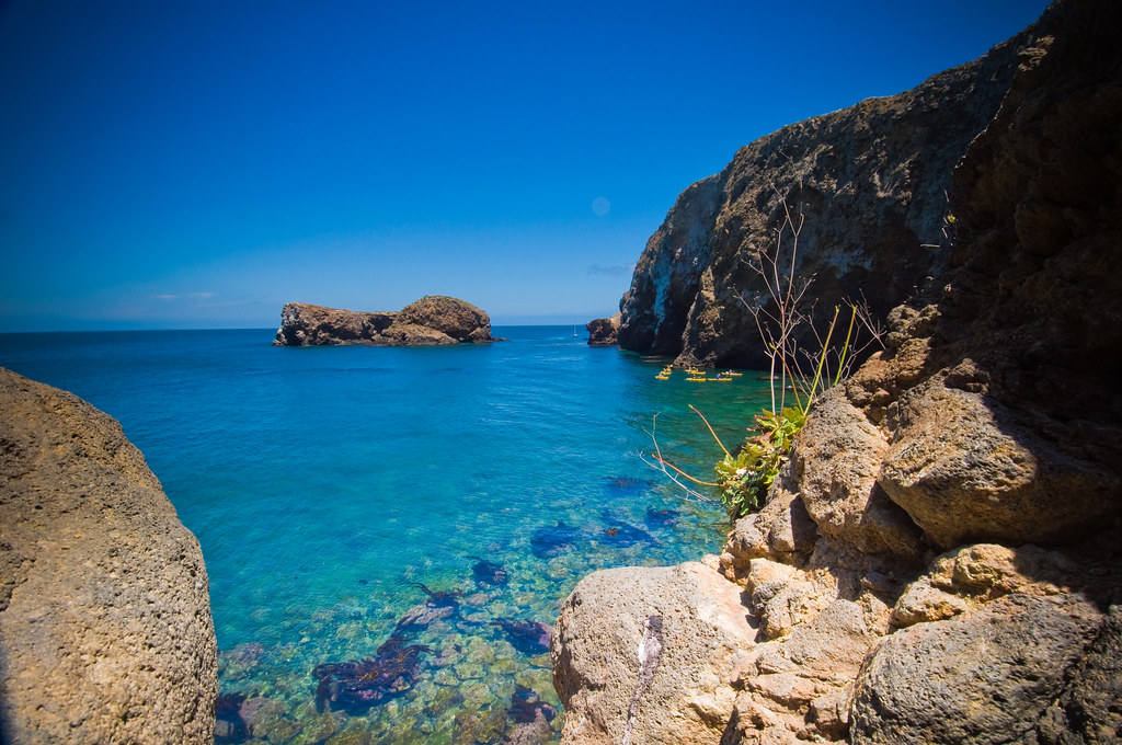 Channel Islands Nationalpark Kartendarstellung