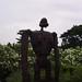 Laputa robot figure on the roof