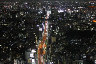 Tokyo from above at night | by frau-klein