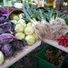 Cabbages and leeks from Green Acres