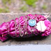 Fabric Bundle Wrapped in Red Cabbage